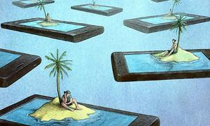 Chúng ta đang tự cô lập mình khi chìm vào thế giới ảo