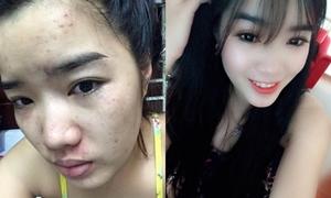 Quá mệt mỏi vì 4 năm sống ảo, 9x Việt công khai mặt mộc với bạn trai