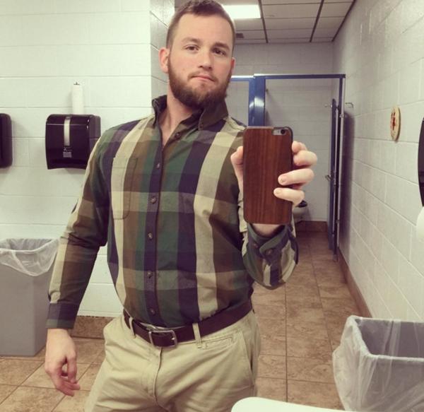 Selfie trong phòng vệ sinh: