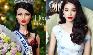 Hoa hậu búp bê Việt Nam, Philippines giống Phạm Hương, Pia bất ngờ