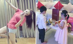 Sao Việt 8/1: Emily tập múa cột cho The Remix, Thủy Tiên giấu mặt con triệt để