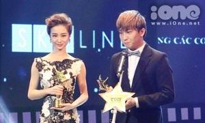 B Trần phấn khích, Jun Vũ bật khóc nhận giải thưởng điện ảnh đầu tay