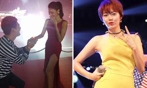 Sao Việt 9/1: Phan Anh cầu hôn Lan Khuê, Minh Hằng bất ngờ xuống tóc tém