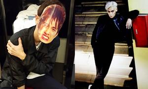 Sao Hàn 10/1: T.O.P tóc bạch kim chất chơi, Chan Yeol trêu chọc D.O