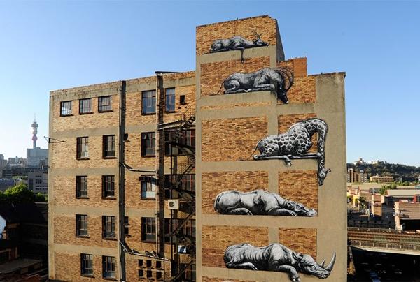 Những động vật hoang dã đang chết dần chết mòn khi cao ốc được xây lên.