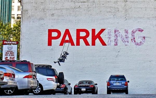 Nơi vốn là công viên (park) - chỗ nô đùa của trẻ thơ nay đã thành bãi đậu xe (parking).