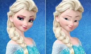 Nhan sắc của công chúa Disney khi tẩy trang