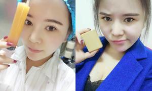 Bị đá vì béo, cô gái hút mỡ làm xà phòng tặng bạn trai