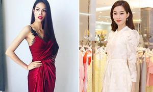Sao style 16/1: Bộ đôi 'Hoa hậu quốc dân' đọ phong cách khác biệt