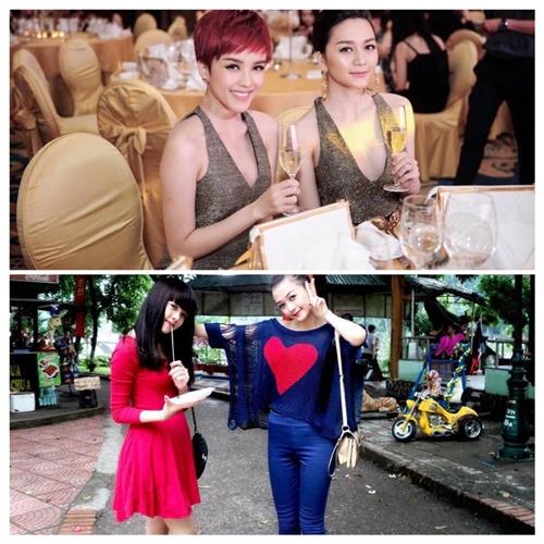 Thiều Bảo Trâm khoe ảnh so sánh sự khác biệt sau 5 năm cùng chị gái Thiều Bảo Trang.