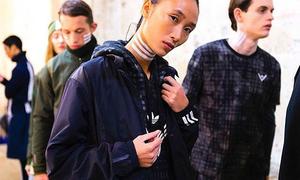 Trang Khiếu âm thầm casting, trúng show diễn của Adidas