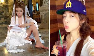 Sao Việt 18/1: Lilly Luta ngồi dáng bá đạo, Elly Trần khoe đủ kiểu mặt xấu