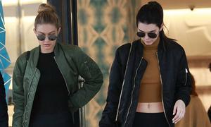 Thời trang đi tập ngắm mãi không chán của Kendall Jenner, Gigi Hadid