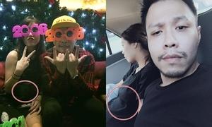 Lâm Á Hân bị nghi có bầu với bạn trai mới