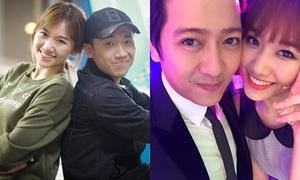 Trấn Thành - Trường Giang bảo vệ 'em gái' Hari Won sau khi chia tay Tiến Đạt