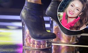 Loạt giày độc của sao Việt 'ăn tiền ở phần gót'