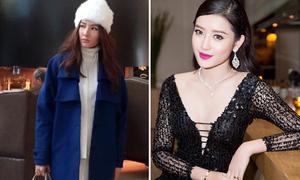 Sao style 21/1: Diễm My như công chúa tuyết, Huyền My đeo trang sức 2 tỷ