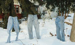 Những chiếc 'quần ma' ở thành phố lạnh nhất nước Mỹ