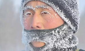 Những hình ảnh lạnh 'không tin nổi' ở Trung Quốc
