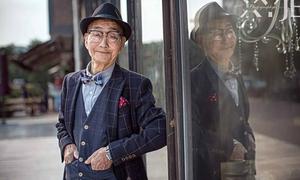 Ông cụ 85 tuổi thành mẫu ảnh nổi tiếng Weibo