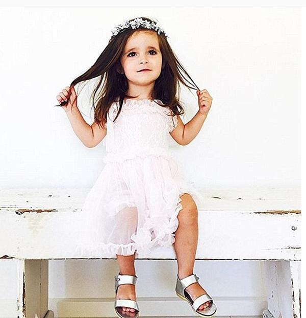 """Đang mang thai 8 tháng, mẹ bé Valentina cho biết sẽ không lập Instagram cho em bé sắp tới vì """"một tài khoản đã quá đủ rồi""""."""
