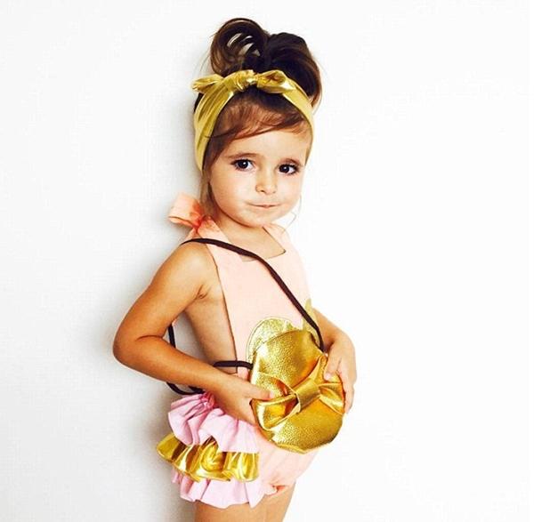 Cô bé Valentina cũng không hề hay biết về sự nổi tiếng của mình, niềm đam mê của bé chỉ đơn giản là mặc đồ đẹp
