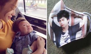 Sao Việt 29/1: Elly Trần âu yếm con trai, Hồ Quang Hiếu bán khẩu trang 3k/cái