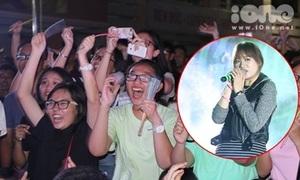 Hari Won tất bật chạy show ngay khi trở lại Việt Nam