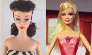 Hành trình 50 năm lên đời nhan sắc của búp bê Barbie