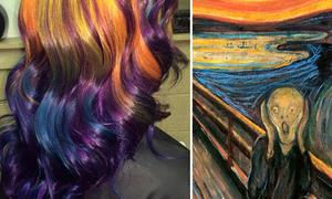 Kiểu nhuộm tóc ăn theo các bức họa nổi tiếng