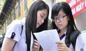 Lịch thi chính thức THPT Quốc gia 2016