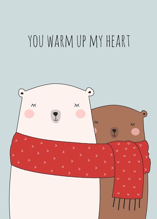 """""""Cậu sưởi ấm trái tim tớ"""""""