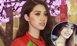 Hoa hậu 18 tuổi gốc Việt môi dày gợi cảm như Lily Maymac