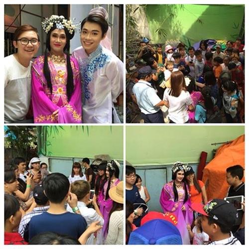 Quán quân Cười xuyên Việt mùa hai - Huỳnh Lập hạnh phúc vì được đi diễn phục vụ khán giả dịp Tết.