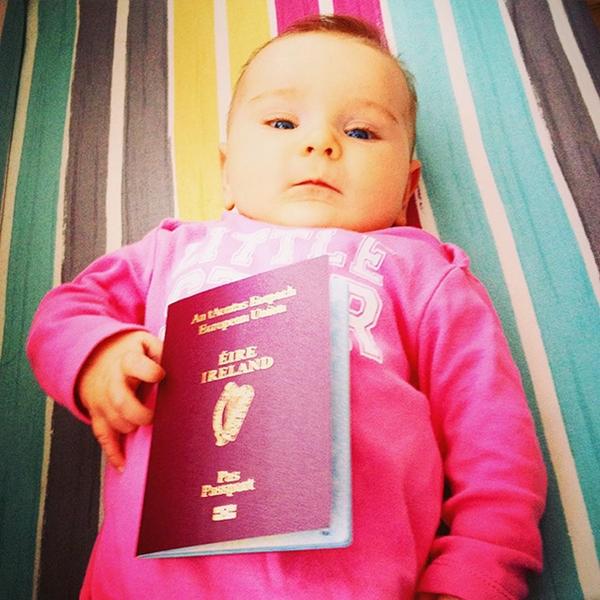 Esmé và bố mẹ gần đây là đến Bangkok trong vòng 3 tuần
