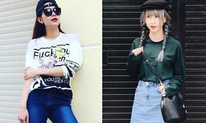 Sao style 12/2: Minh Hằng sành như gái Hàn, Quỳnh Anh Shyn lí lắc dễ thương