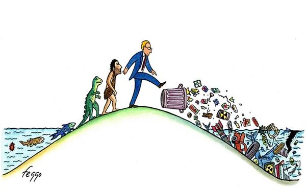 """Đây là cách con người đang """"trả ơn"""" chính môi trường cưu mang mình."""
