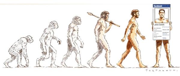 Đặc điểm sinh học để nhận biết của con người hiện tại chính là ảnh đại diện Facebook.