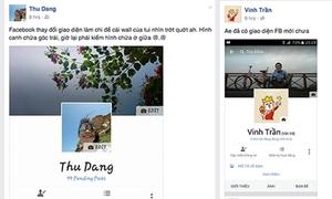 Facebook cho để ảnh đại diện chính giữa