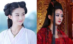 Người đẹp cổ trang Hoa ngữ từ ngây thơ hóa 'ác nữ' nhờ trang điểm