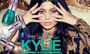 Sau set son môi 'đại thắng', Kylie Jenner tung tiếp dòng sơn móng tay
