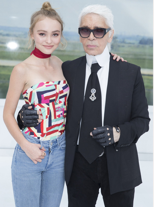 Đến năm 2014, Lily- Rose bắt đầu sự nghiệp diễn xuất và ra mắt với vai trò người   mẫu cho Chanel năm 2015.