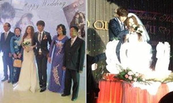 Từ hôm qua (15/2) những bức ảnh về đám cưới