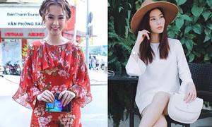 Sao style 19/2: Phương Trinh yêu kiều đầm 50 triệu, Diễm My tinh khôi cây trắng