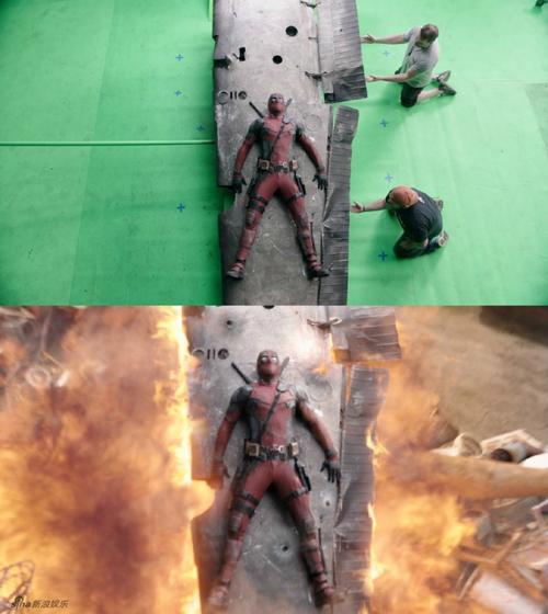 Các nhà làm phim Deadpool gây ngạc nhiên khi thể hiện những cảnh hành động,   bom nổ chân thực, dù quy mô không hoành tráng như một số bom tấn khác của   Marvel nhưng vẫn khiến khán giả ngạc nhiên về độ đơn giản mà vẫn nuột.