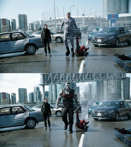 Dị nhân bằng kim loại khổng lồ và những tòa nhà cao tầng chỉ xuất hiện trên phim.