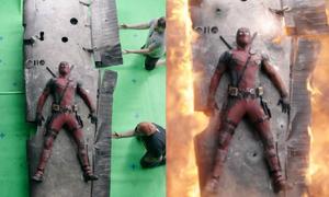 Phim 'hài bựa' Deadpool tự bóc mẽ kỹ xảo ảo diệu