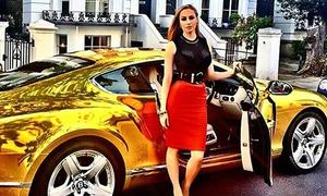 Hội con nhà giàu ở Nga khoe siêu xe, chuyên cơ riêng