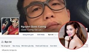 Cường Đô La - Hà Hồ hủy kết bạn trên Facebook