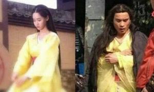 Nhan sắc gây cười của 2 nam diễn viên đóng thế Yoon Ah
